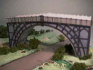 Iron Bridge paper model