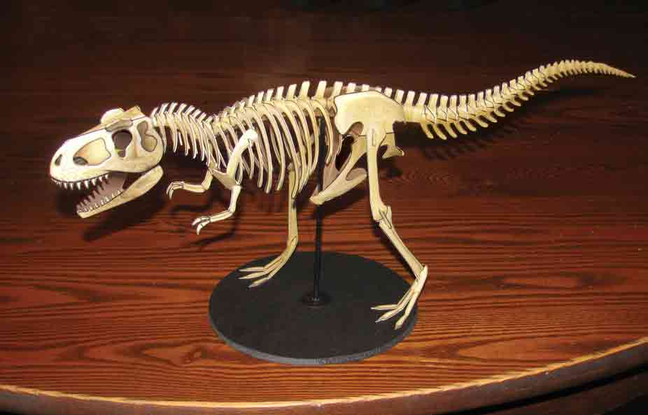 T. rex paper model