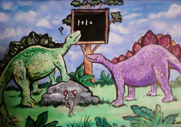 Jac Fyn's Stegosaurus Cartoon