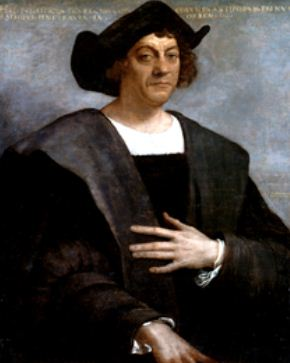 posthumous portrait of Columbus