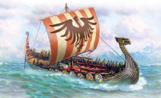 Title Of The Viking Ship Paper Model
