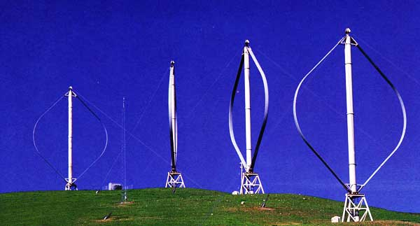 Vertical Axis Turbines