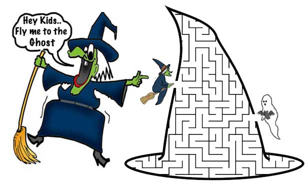 The Witch Maze Game