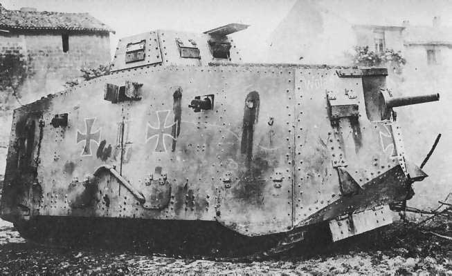 the German A7V