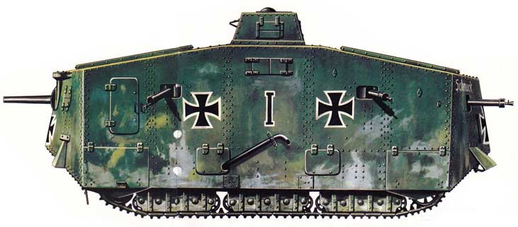 A7V Tank illustration