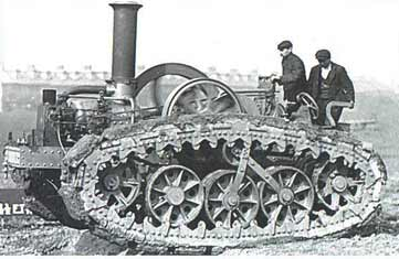 Early Holt tractor -pre A7V