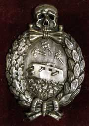 Tank crew badge with image of the A7V