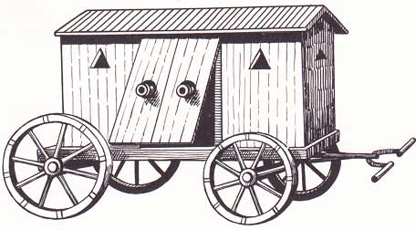 16th century assault barnlike vehicle