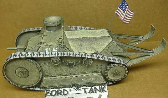 BobMartins Ford WWI Tank