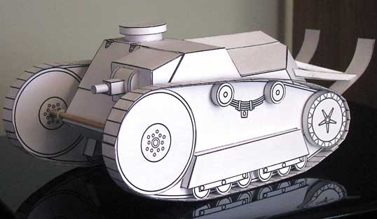 Ford WWI Tank BETA model