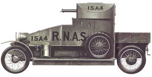 Lanchester Armored Car