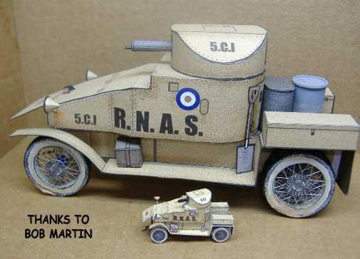 Lanchester model by Bob Martin