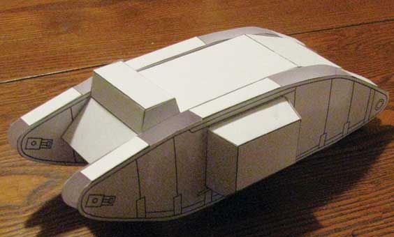 Mark IV WW1 Tank Beta build