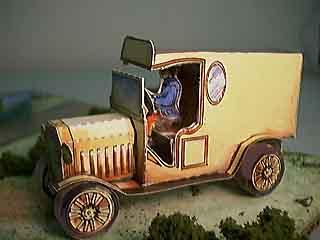 Model T Van paper model