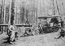 Holt tractor- pre-tank vehicle