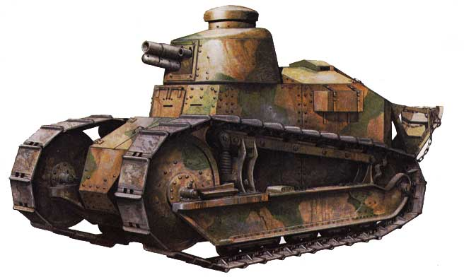 Early WWI Renault F-17 Light Tank