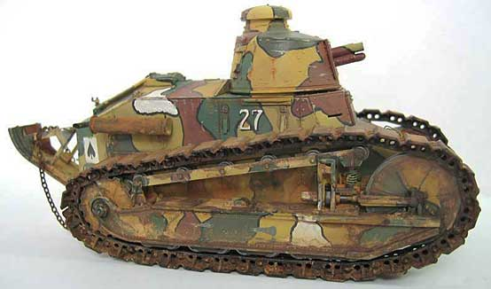 Side view of the FT-17 light tank