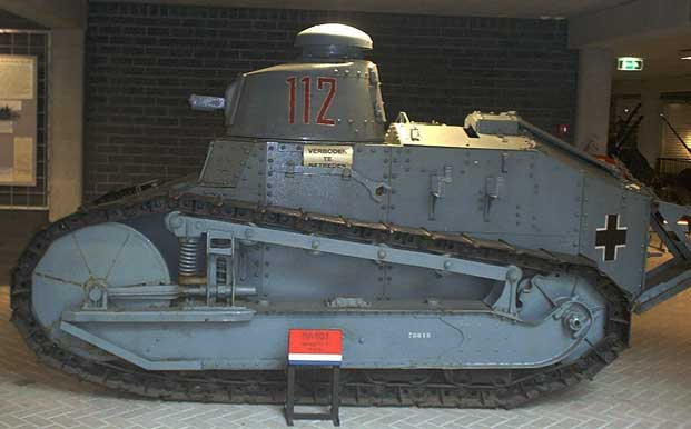 Captured FT-17 Light Tank