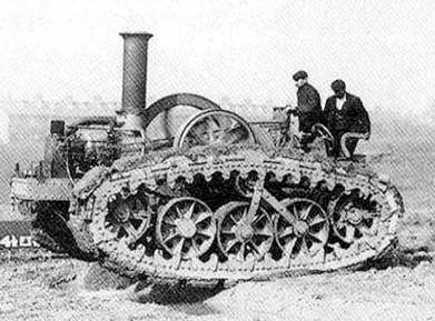 French Steam-Tractor