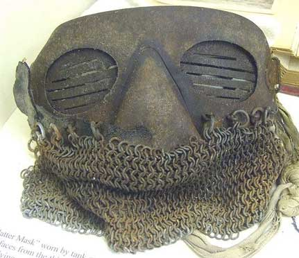 Splatter Mask for WWI Tank crews
