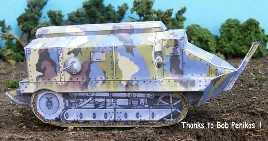 Schneider French WWI Tank The Great War