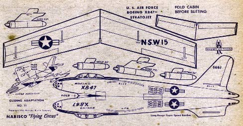 XB-47 RIgby Shredded wheat model