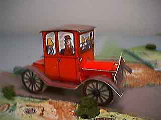 Ford Model T Tin Lizzy paper model