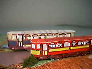 Beamish Trams paper models