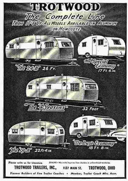 Trotwood Trailer Designs 1940