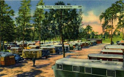 TravelTrailer-park in Florida