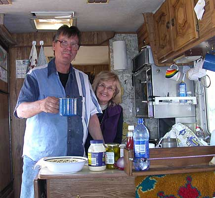 Our last RV-Kitchen