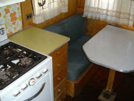 TravelTrailer-kitchen and stove