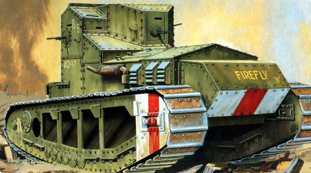 Whippet Medium British WWI Tank