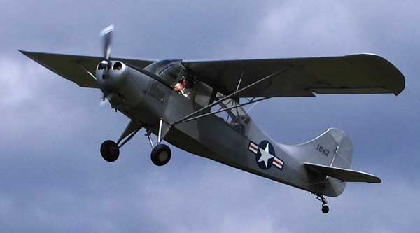 WIX Photo Contest Special L-bird category Aeronca-L-16-upac