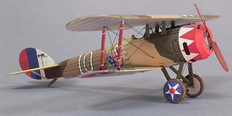 This is one of the Nieuport 28 models you'll get, and if you take your ...